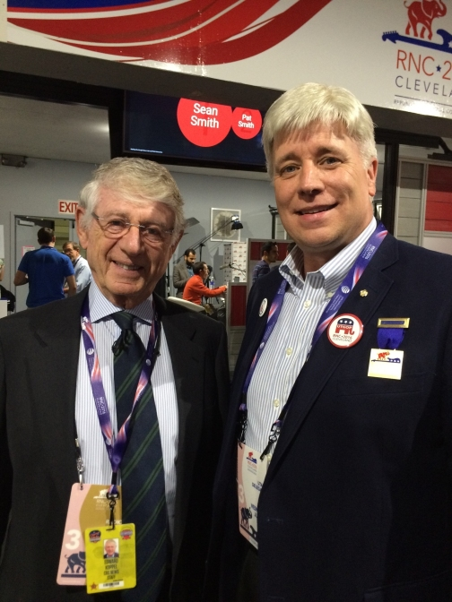 I had the opportunity to meet Ted Coppel during the 2016 RNC convention.