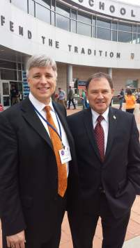 Talking with Governor Herbert at the 2014 DCRP convention